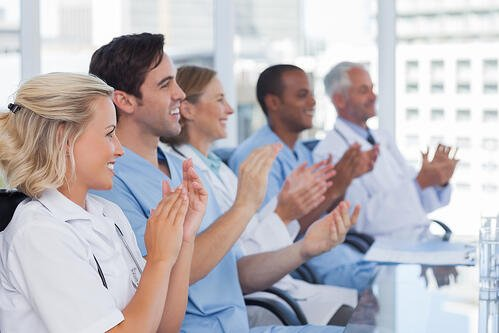 recognizing remote healthcare workers